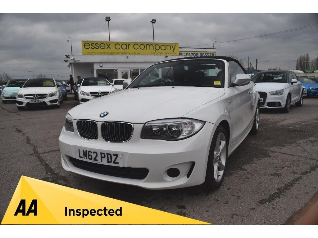 Bmw 1 Series Convertible 2 0 120d Exclusive Edition 2dr Bmw