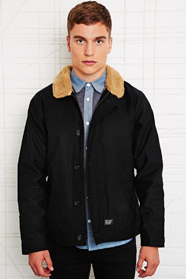 Carhartt Sheffield Deck Jacket in Black at Urban Outfitters