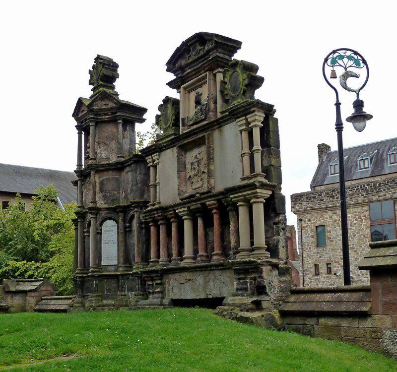 Headstone, St Mungo's Cemetery, Glasgow