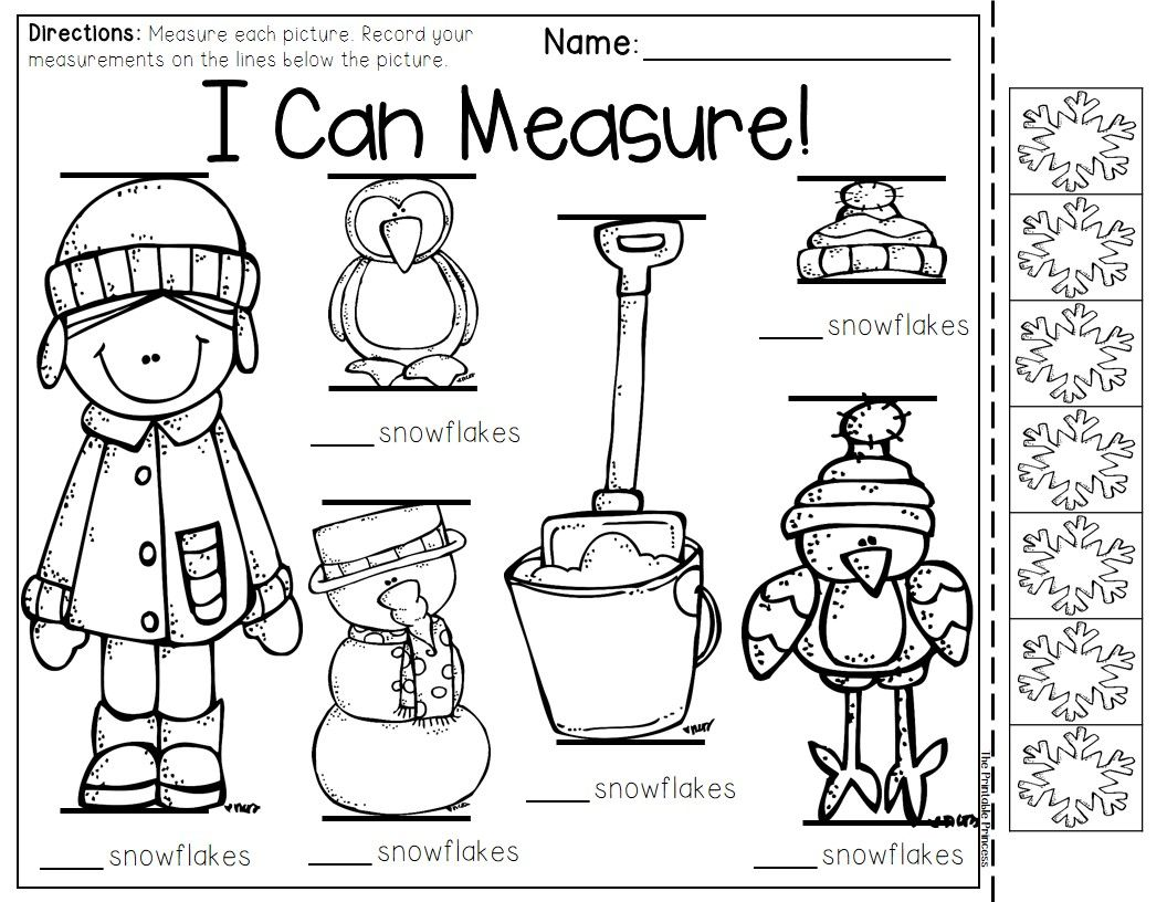 December activities and printables for Kinder. | Math ...