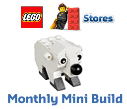 FREE LEGO Polar Bear Model Build at Lego Stores on 1/5-1/6 on http://hunt4freebies.com