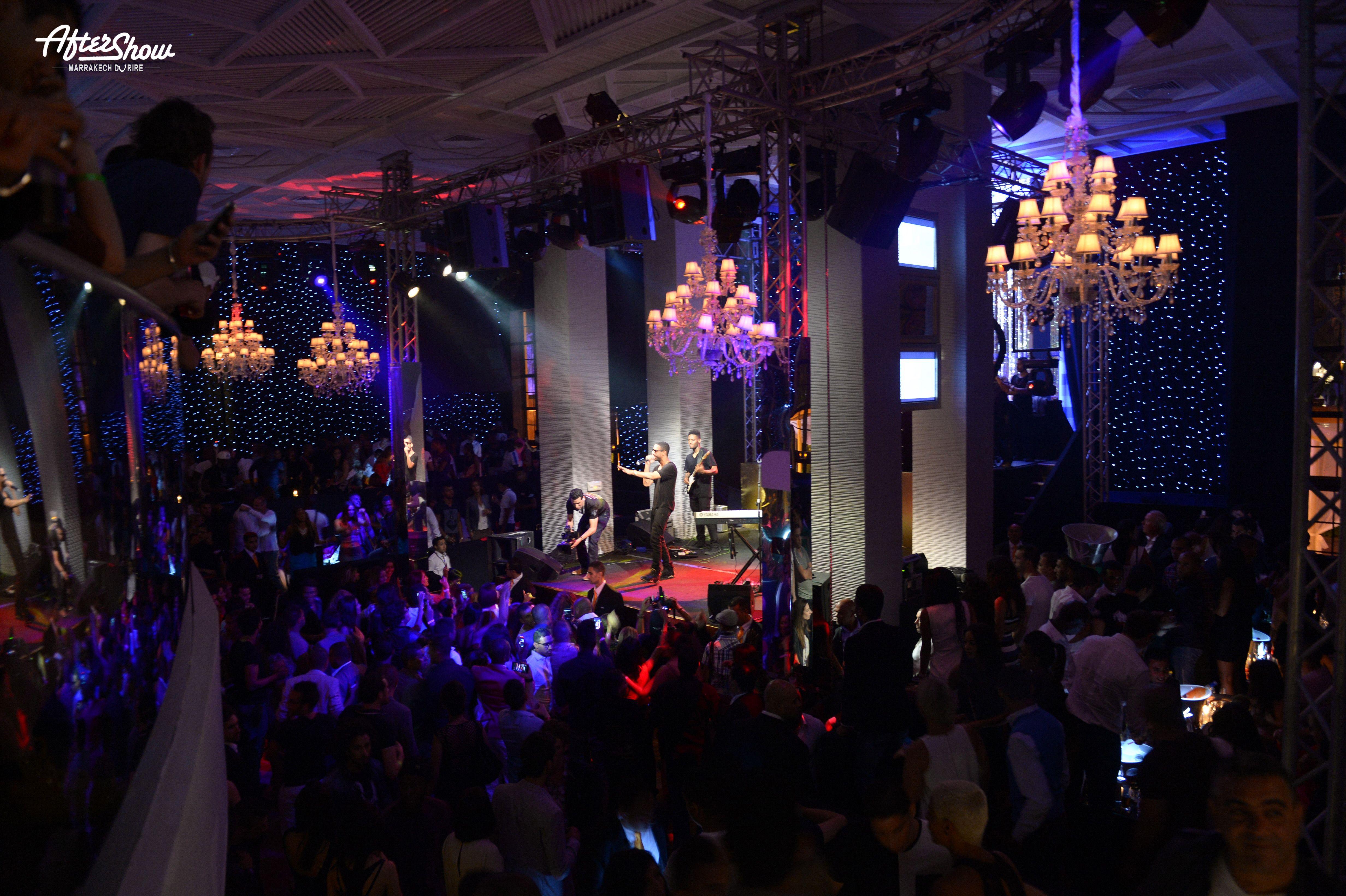 Les Préparations pour les soirées AfterShowMDR Commencent, Rendez vous à Marrakech #Marrakech #AfterShowMDR