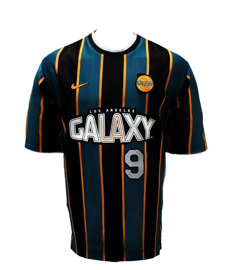 Znalezione obrazy dla zapytania la galaxy jersey 1998