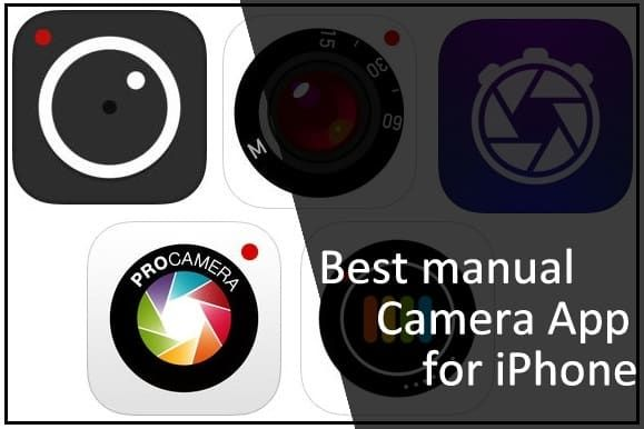 Here's list of the best manual Camera App for iPhone 6S