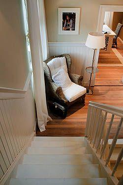 Beadboard De Diele Eingangsbereich Wandverkleidung An Treppe Wandpaneele Holz Treppe Profilholz Nut Feder Brett Wandpaneele Holz Wandpaneele Wandverkleidung