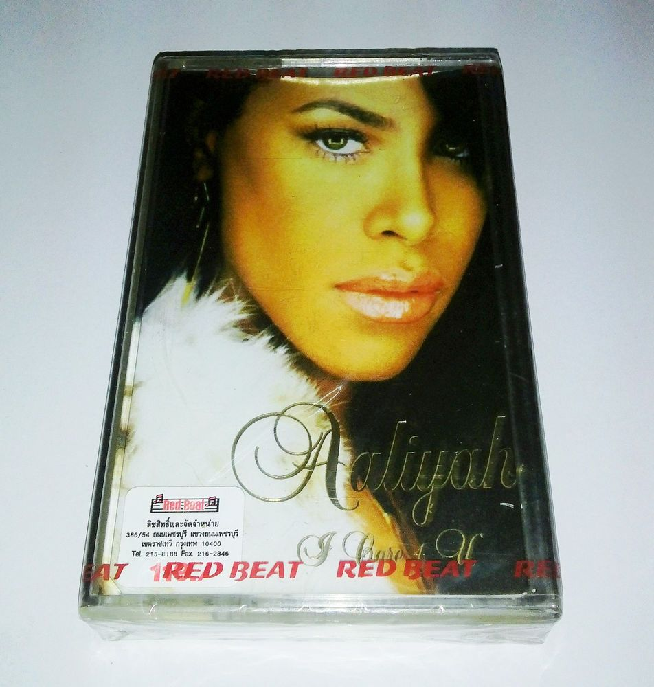 Aaliyah I Care 4 U Org Thailand Cassette Edition New