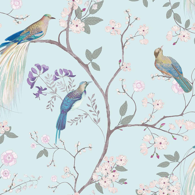 Dorma Maiya Duck Egg Wallpaper Dunelm Wallpaper Pinterest