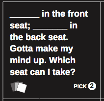 Cards Against Humanity Custom Card Generator. Create your own ...