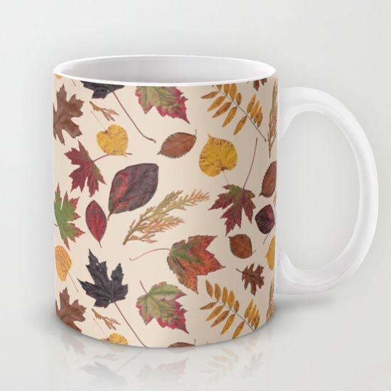 Aurora Autumn Mug by MargieMark