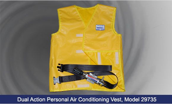 Details About Welders Compressed Air Cooling Waistcoat Vortex Tube