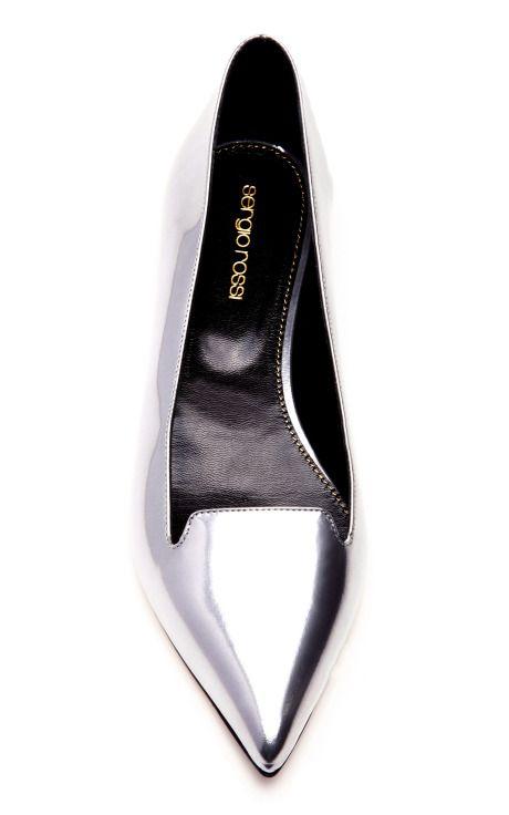 Godiva Flat by Sergio Rossi for Preorder on Moda Operandi