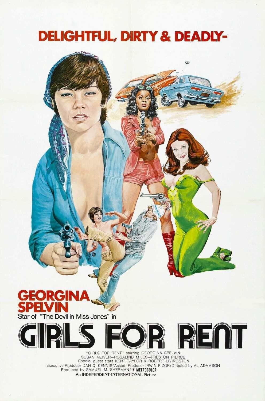 Rae Dawn Chong Lesbian Minimalist girls for rent, 1974 - usa poster | action films 1 : cinema
