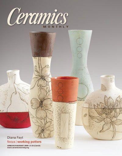 June July August 2009 Art I Love Ceramics Monthly Ceramic Arts Daily Ceramic Art