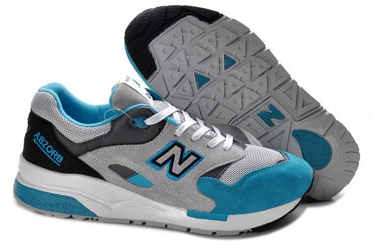 Discount New Balance CM1600GBB sky Blue Charcoal Grey Mens NB-1600 Sneakers  For Males/