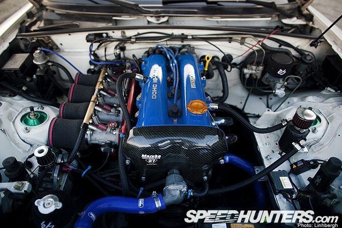 NA Mazda Miata with ITBs