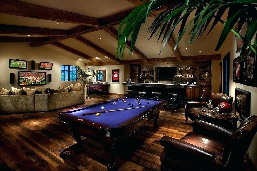 37++ California house game room furniture bar info