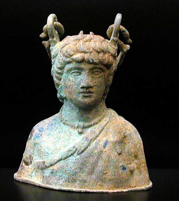 Roman Balsamarium In The Form Of The Bust Of Antinous La 568 Origin Mediterranean Circa 1st Th Century Ad To 3rd Th Cent Classical Antiquity Art Art Market