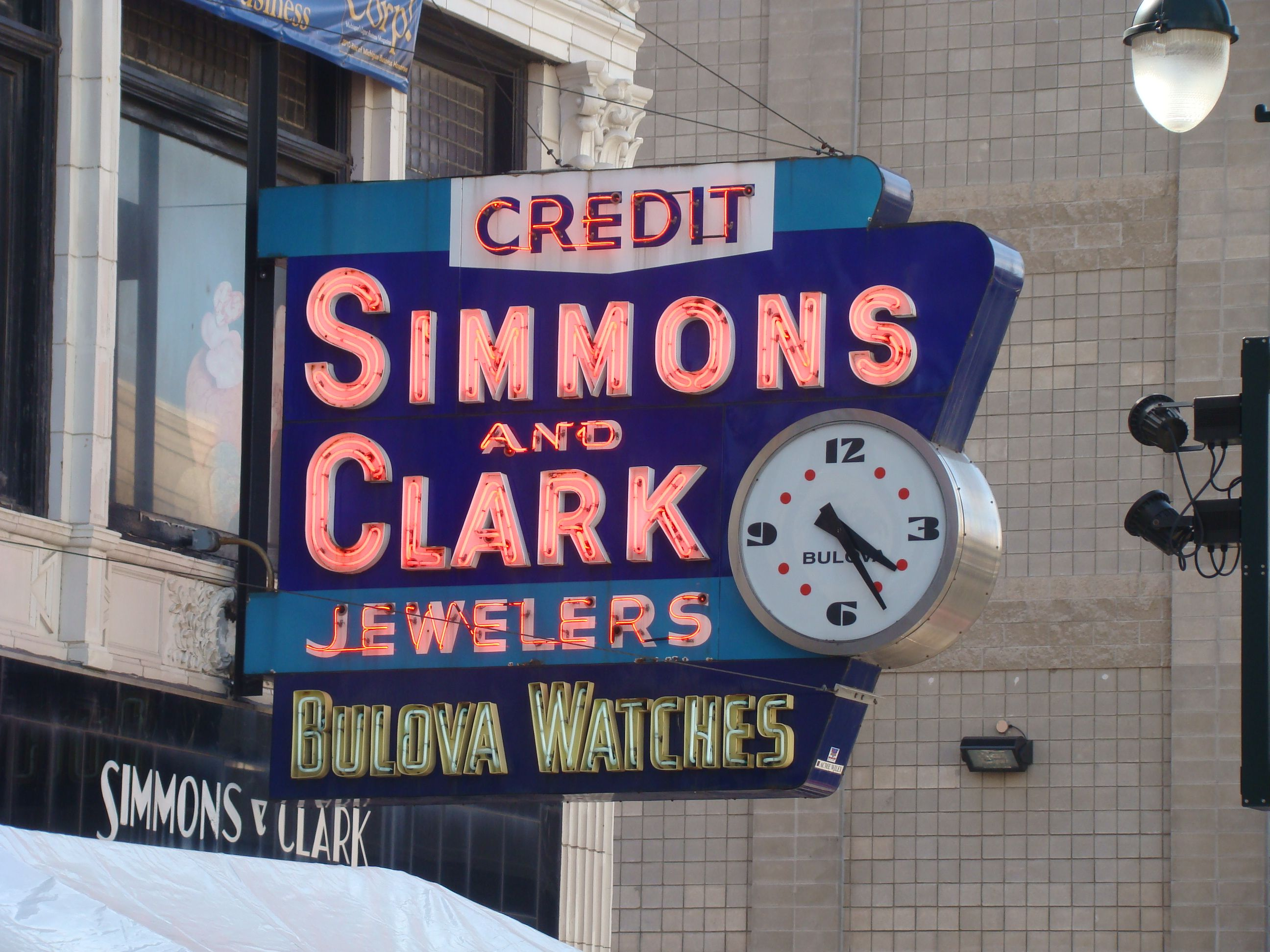 Jewelry Store Sign Ballpark In