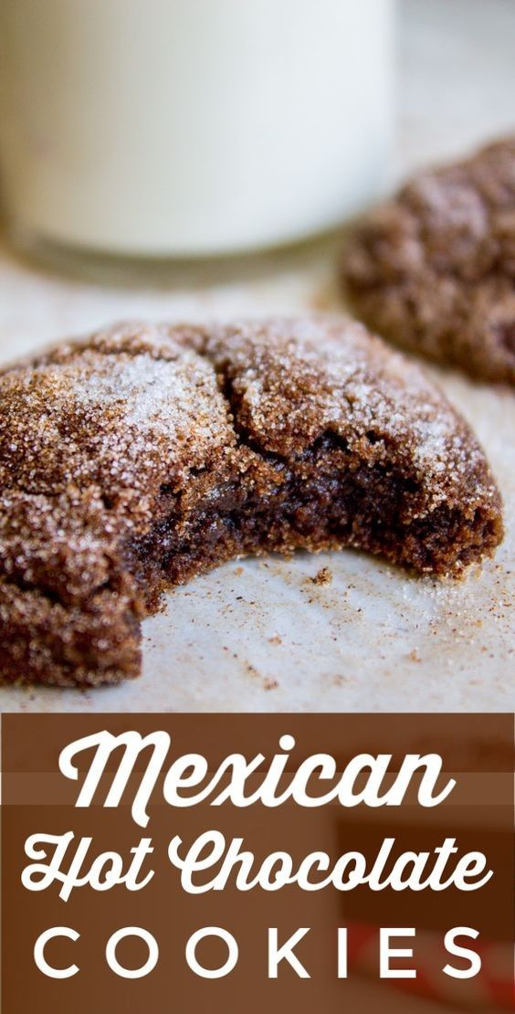 Hot Chocolate Cookies #cookies