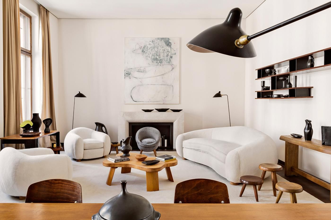 This Mid-Centuty Focused Bachelor Pad In Berlin Is All Kinds Of Cool.