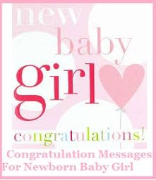 congratulations new baby girl