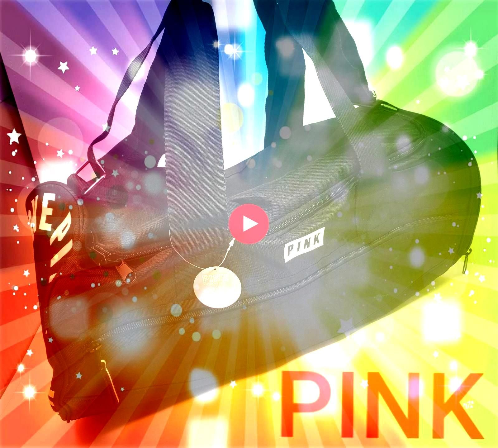 with tags Very rare find This duffle bag has a zippered side opening for shoes and a front zippered pocket Price is firm Measures roughly 20 x 10 x 10 Please check out my...