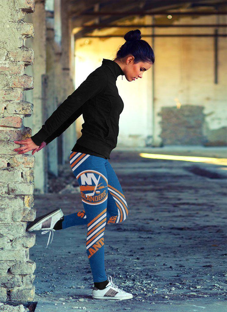 2eb67a7b0f5 Straight Cute Beautiful Attractive New York Islanders Leggings – Best Funny  Store
