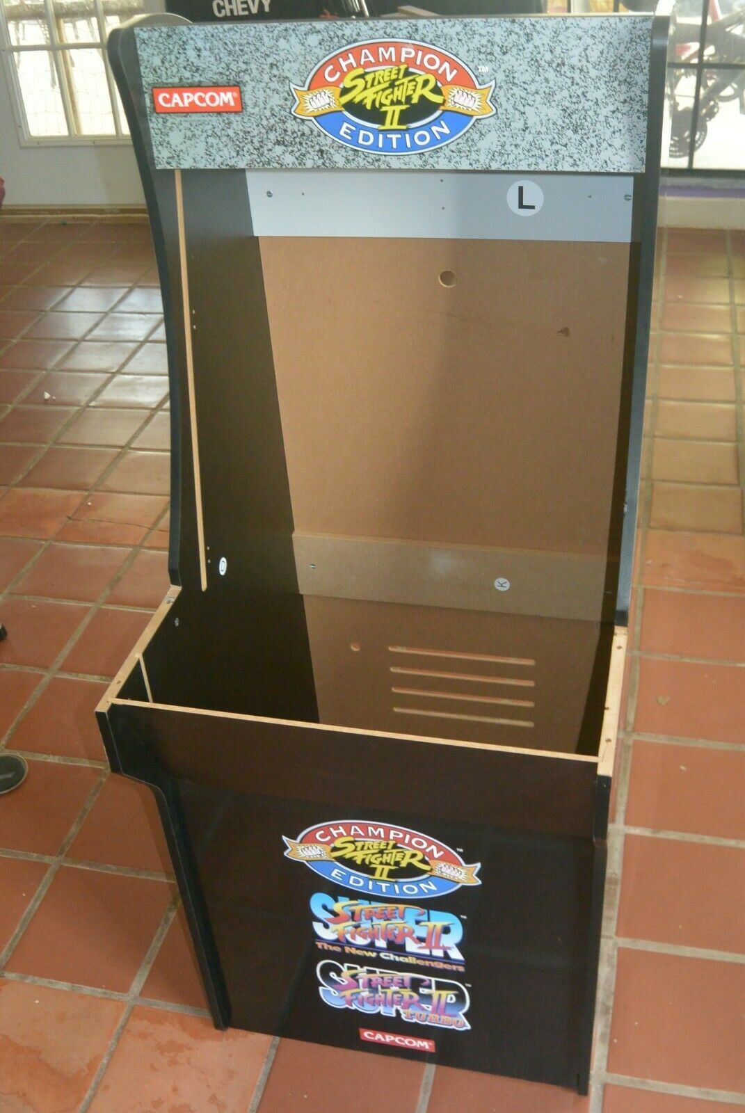 Arcade 1up Street Fighters Ii Champion Edition Cabinet Seen On Ebay In 2020 Arcade Street Fighter Ii Street Fighter