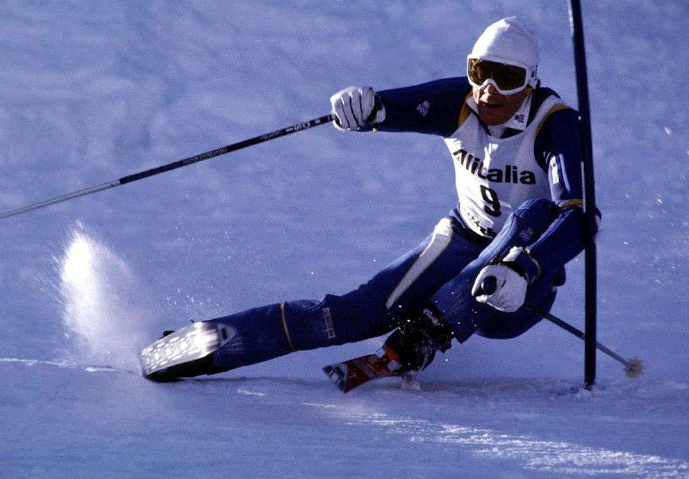One of my first ski idols: Ingemar Stenmark. #skiingequipment