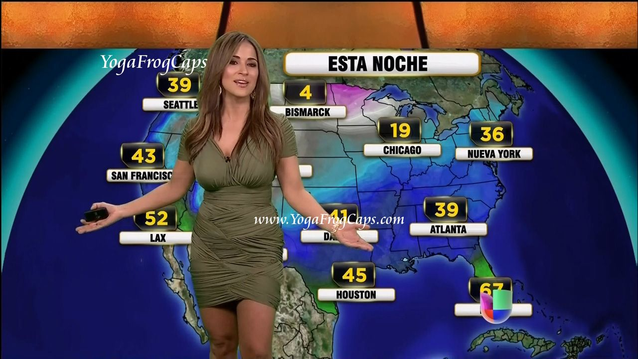 Hot Weather Girl Jackie Guerrido Sexy  Hot Weather Girls -8950