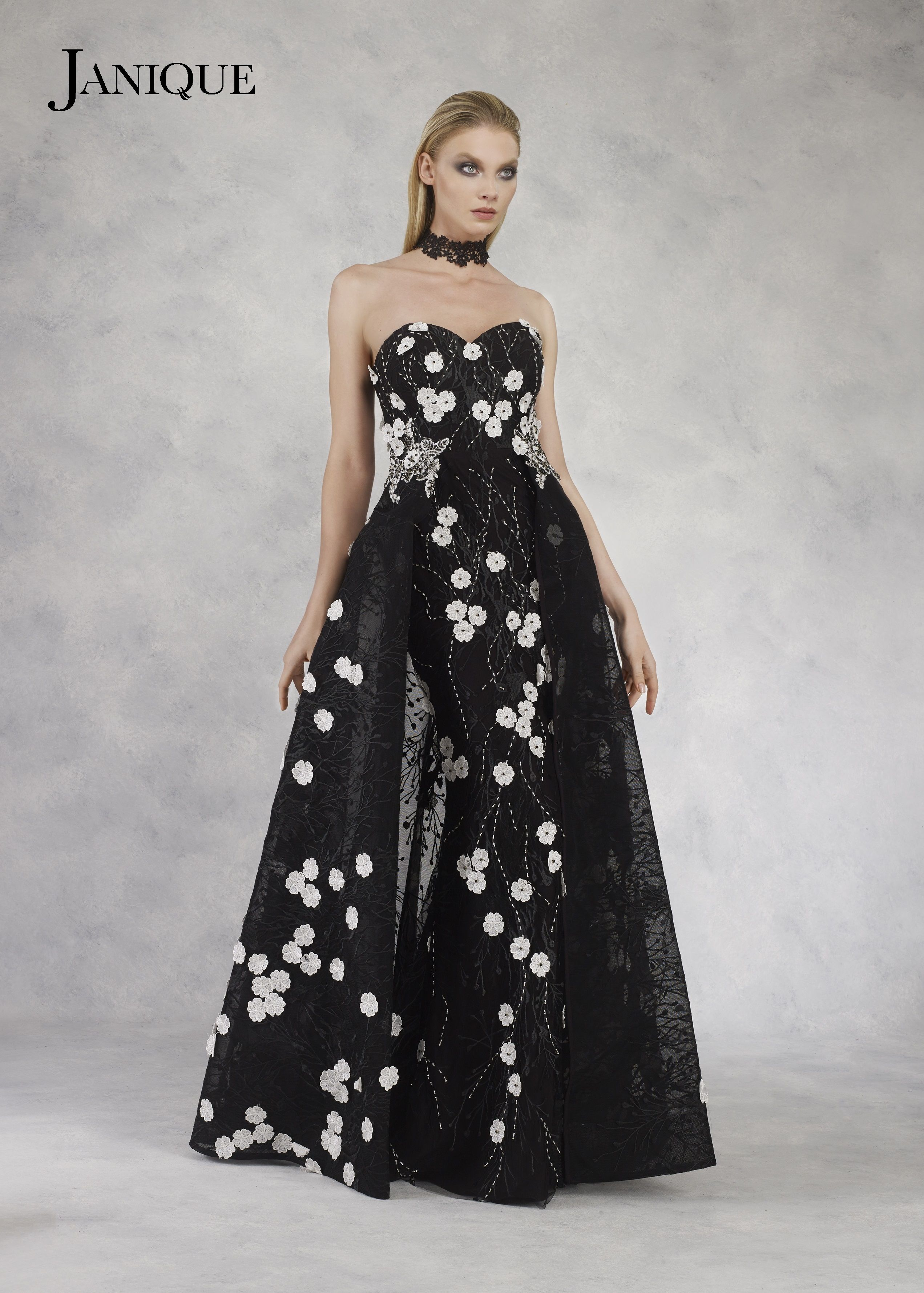 Janique w dress collection this evening dress is fashioned