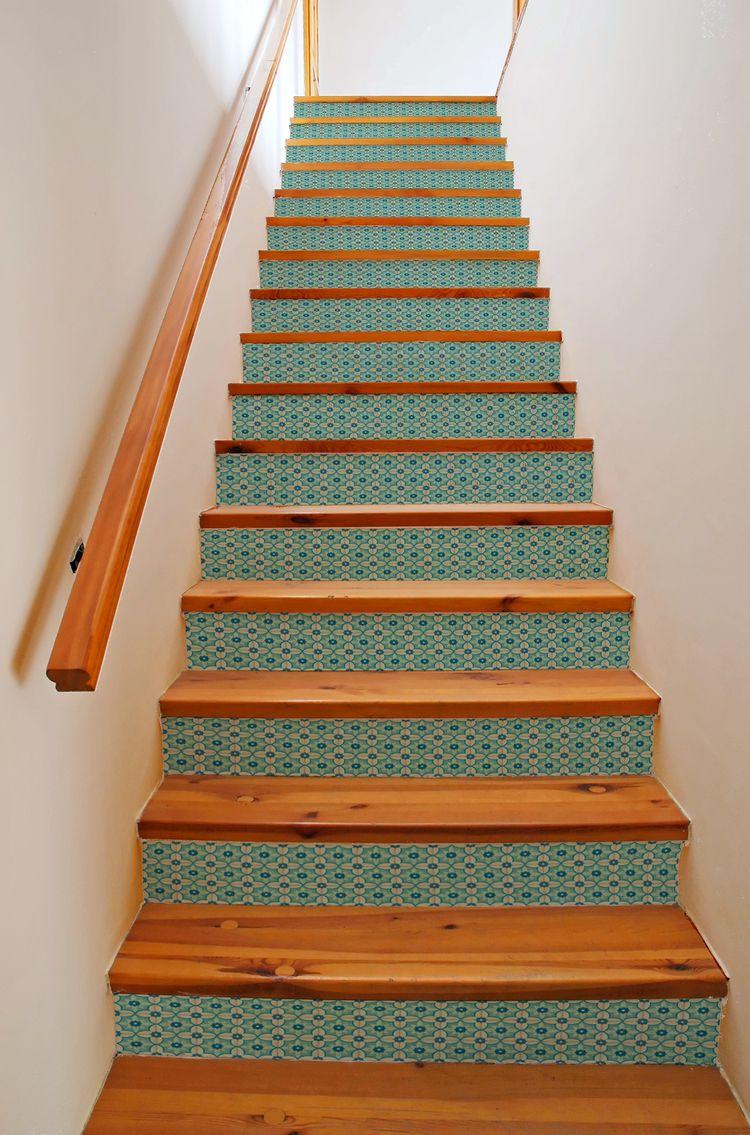 Best Stair Risers Mirth Studio Antebellum Stair Riser Decals 400 x 300