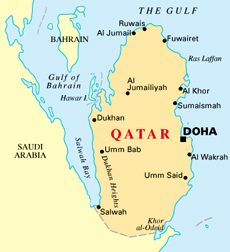 Qatar Map Beauty of Qatar Pinterest Asia