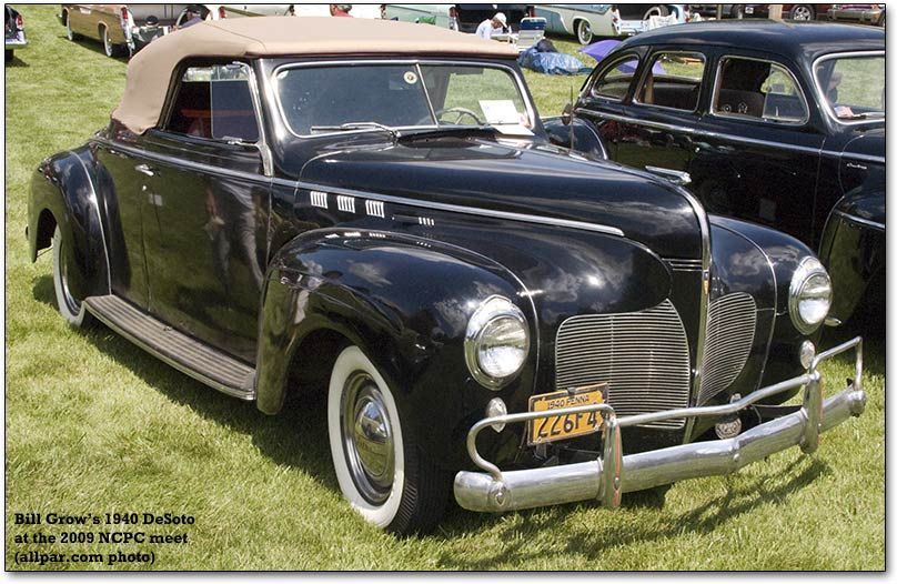 1940 Desoto Convertible With Images Desoto Cars Classic Cars