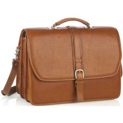 Leather Laptop Briefcase Color: Tan  http://www.alltravelbag.com/leather-laptop-briefcase-color-tan-4/