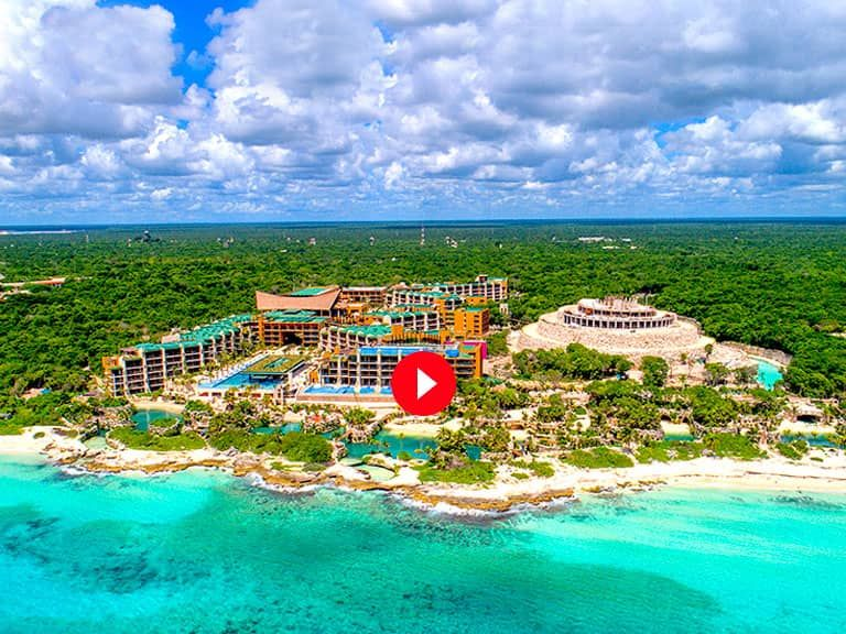 Have You Heard Of Hotel Xcaret Modern Yet Traditionally Mayan