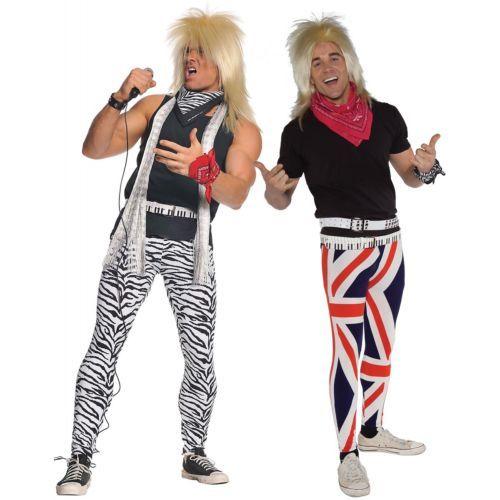 Années 80 Rocker-blonde 1980 S Déguisement