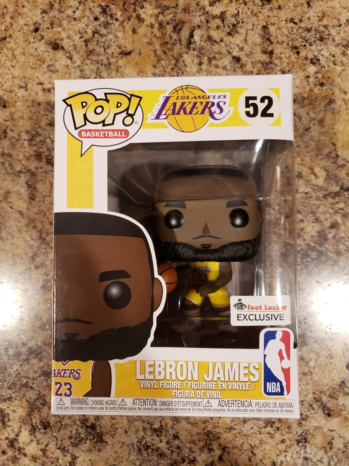 a02a300c0d64 Details about FUNKO POP! NBA LOS ANGELES LAKERS LEBRON JAMES FOOT ...