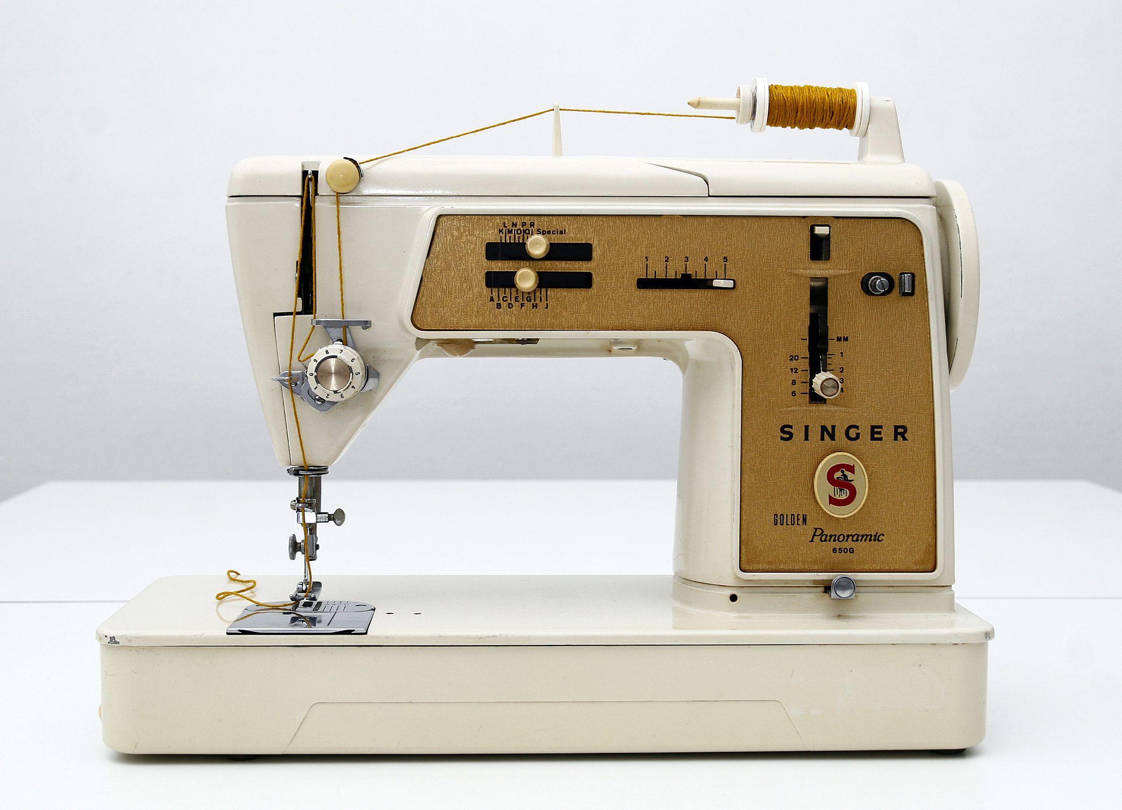 enhebrar una máquina de coser antigua | Maquina de coser
