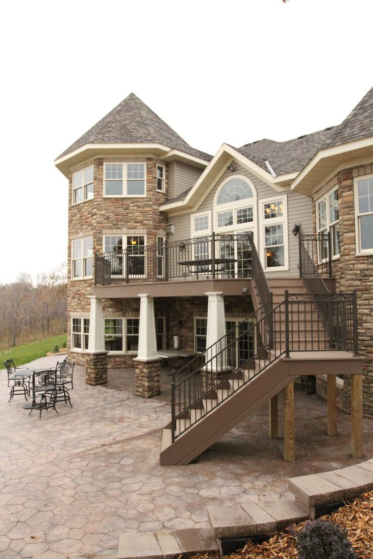 Exterior Columns Minnesota Bayer Built Woodworks Dream House Dream Backyard My Dream Home