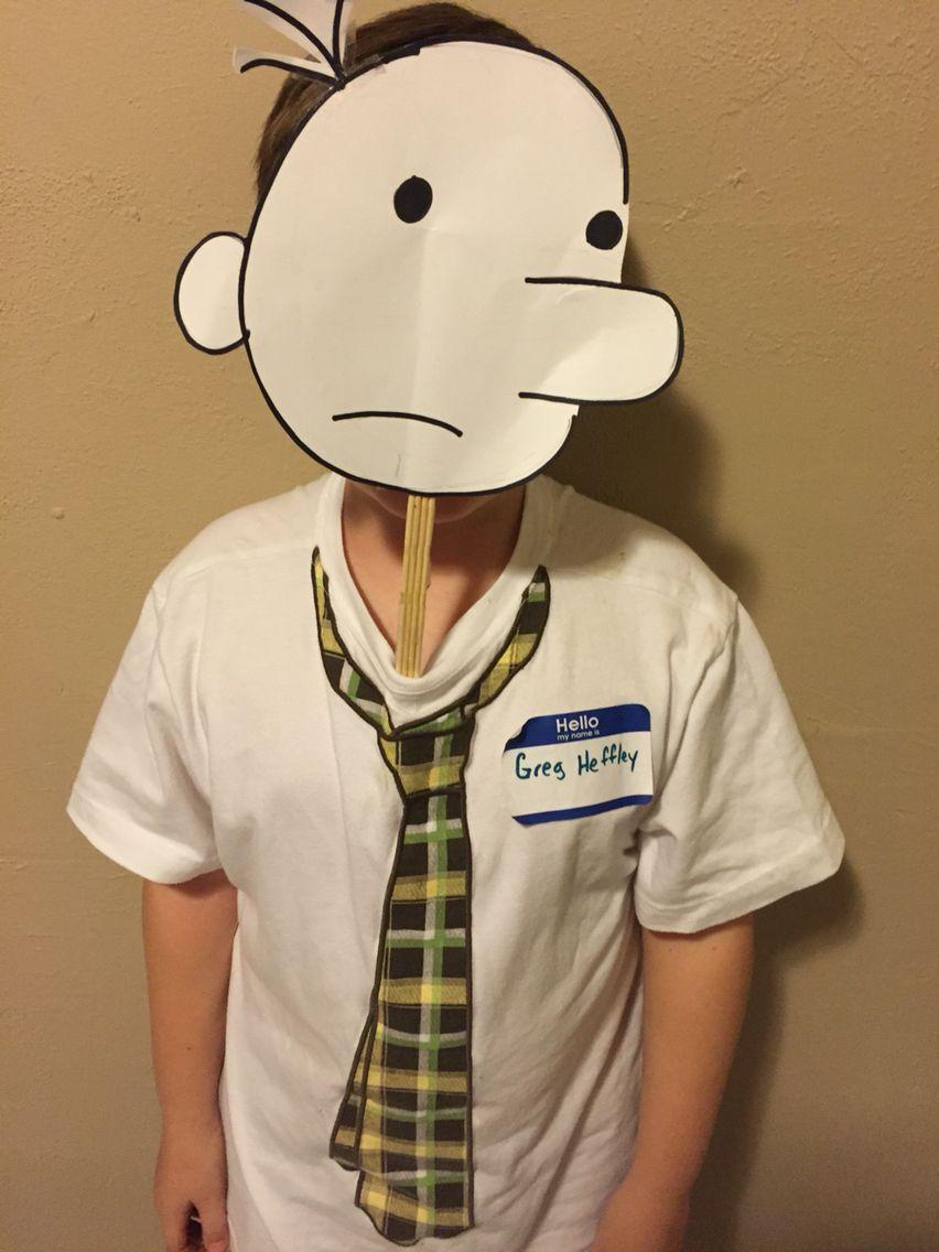 Dairy of a Wimpy Kid costume Greg Heffley   Halloween   Pinterest