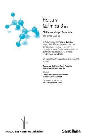 Fisica Y Quimica Química Física Cuadernos De Ciencias