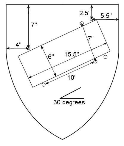 Medieval Heater And Kite Shield How To Project Sca