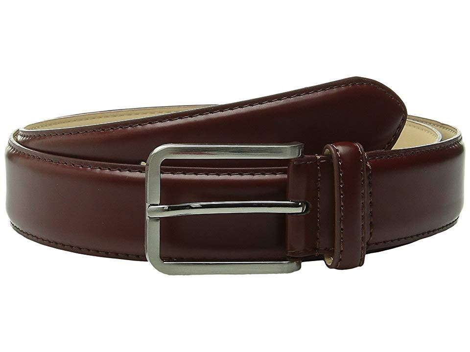 Stacy Adams 32mm Classic Dress  Leather TopMicrofiber Lining X Cognac Mens Belts An ideal design for the gentleman onthego this sleek Stacy Adams belt will complete any l...