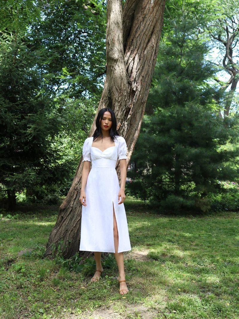 High Summer See Reformation S Sunny Dresses Windsor Dresses Dresses Women Blouses Fashion [ 1066 x 800 Pixel ]
