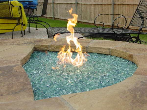 Outdoor Fire Pit Kits With Black Iron Chair Outdoor Fire Pit