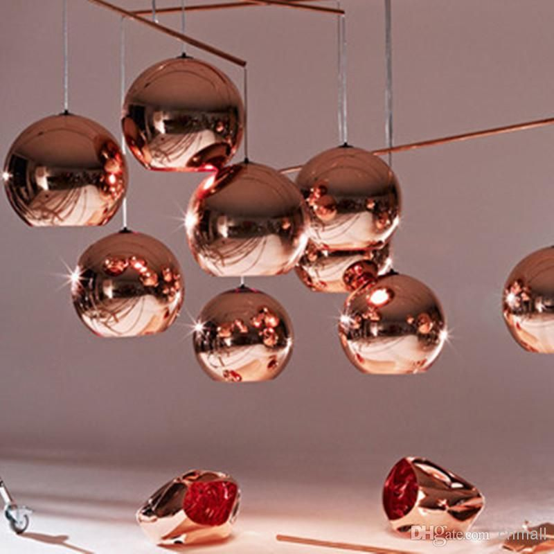Wholesale Pendant Lamps Buy Hot Sale Tom Copper Fashion Glass Ball Dixon Bubble Best Ceiling Lig Tom Dixon Copper Copper Lighting Glass Ball Pendant Lighting
