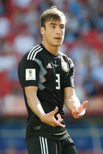 Nicolas Tagliafico of Argentina is seen during the 2018 FIFA World Cup Russia Group D match between Argentina and Iceland at Spartak Stadium on June...