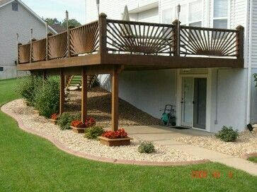 backyard ideas | house vision board | pinterest | backyard and decking - Under Deck Patio Designs
