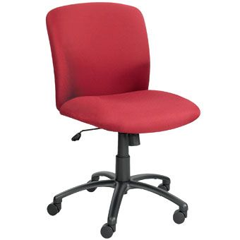 Check out the Safco Uber Mid Back Task Chair for only $344.95. Features: Designed especially for the big and tall person 360° Swivel rotation Tilt pivot point, Tilt lock Smooth tilt tension to control rate and ease of chair recline Pneumatic seat height adjustment Greenguard Certified* Safco Limited Lifetime Warranty Meets or exceeds ANSI/BIFMA standards Weight capacity 500 lbs
